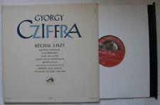 GYORGY CZIFFRA (LP 33T) RECITAL LISZT