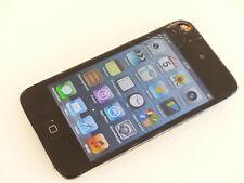 Apple iPod Touch 4. Generation 8GB Schwarz A1367 gebraucht Sprung #C3RHD