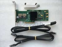 LSI SAS 9210-8i 8-port 6Gb/s PCIe HBA RAID Controller card+SFF-8087 to SFF-8087