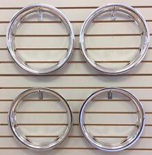 "14"" NEW Plastic Chrome Beauty Rings TRIM RING SET"