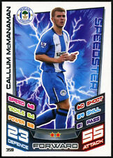 Callum mcmanaman #359 Wigan ATLETICA LEGGERA-Match Attax 2012-13 TRADE card (C516)