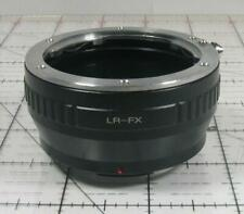 Leica R Mount Adapter for Fujifilm FX Mount Cameras