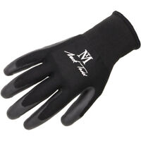 Mark Todd Lightweight Summer Yard Gloves Protective Grip Small - Large Black