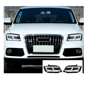 For Audi Q5 LED Headlights LED DRL 2009-2018 Replace OEM Headlight Sequential