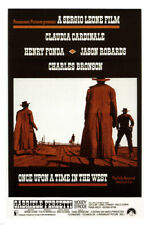 Once Upon A Time In The West by Sergio Leone Movie Poster1968 Western 24X36- Ry1