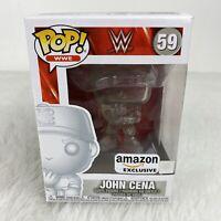 Funko POP! WWE Wrestling - John Cena #59 Clear - Amazon Exclusive Vinyl Figure