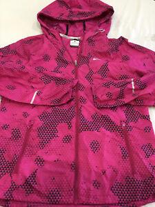 Nike Women's Running nylon  Jacket Size Med