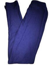 LuLaRoe Kids Leggings L/XL Large XLarge NWT Solid Navy Blue