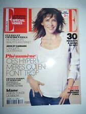 Magazine mode fashion ELLE French #3468 juin 2012 Sophie Marceau