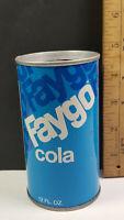 Faygo Can Flat Pull Tab Top Casimir Pulaski Detroit Michigan Rare Vintage