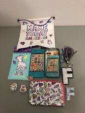 Justice Coin purse Girls iPhone Stationary Set Lot