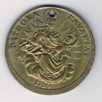 M16 Messing Schutz Medaille Bavariae 1760 Maximilian J. Charivari Dm40mm 18g rar