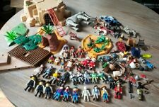 Huge Lot Of Playmobil Vintage And New People Animals Accessories Not Complete