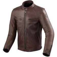 Blousons marrons coude pour motocyclette