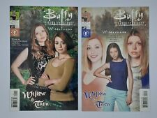 Lot of 2 Buffy: Willow And Tara Wilderness Comic Books photo covers Vf/Nm