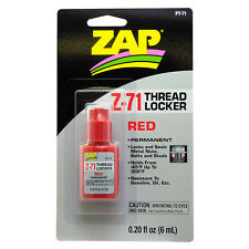 Z-71 Red Threadlocker .20 oz. PT-71
