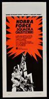 Plakat Kobra Force Squadra Bürgerwehr Caruso Alden Tornatore Price N74