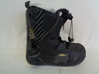Salomon Brigade Snowboarding Boots Black/Gold Womens Size 9 (HKY26-910)