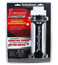 Rockford Fosgate RFC1 RFC-1 Platinum Plated 1 Farad Car Audio Power Capacitor