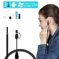 Digital Led Otoscope Ear Camera Scope Earwax Removal Kit Ear Wax Cleaning Tool