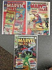 Marvel Tales #7, 11, &15