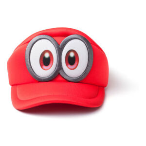 Nintendo Super Mario Bros Odyssey Cappy Kids Curved Hat Unisex Red