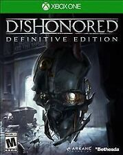 Dishonored: Definitive Edition (Microsoft Xbox One, 2015) BRAND NEW