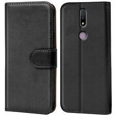 Book Case für Nokia 2.4 Hülle Flip Cover Handy Tasche Schutz Hülle Telefonhülle