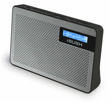 BUSH BR25DAB DESKTOP / PORTABLE DAB/FM RADIO - Refurbished Good condition