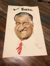 Don Barclay Artwork Deceased 1975 Bucky Harris Image Walt Disney Artist