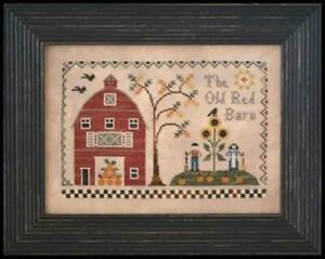 The Old Red Barn by Little House Needleworks cross stitch pattern