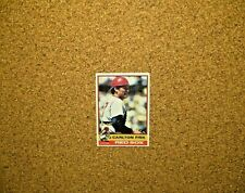 1976 Topps Baseball #365 Carlton Fisk (Boston Red Sox)