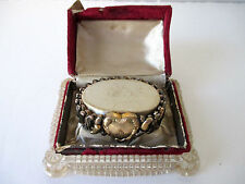 Vintage Speidel Sweetheart Expansion Bracelet 1940's Phoenix In Original Box