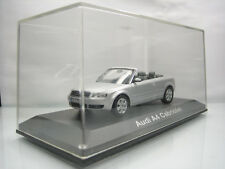 Diecast Norev Audi A4 Cabriolet 1/43 Silver Grey Mint in Box
