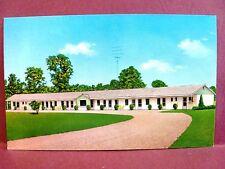 Postcard IN Wheatland Motel Vagabond