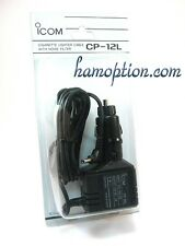 NEW ICOM CP-12L CIG LIGHTER for IC-91A IC-91AD IC-E91 IC-W32 IC-T7H IC-T22 ID-92