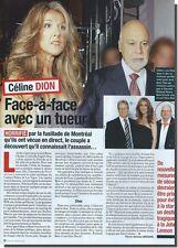 Coupure de presse Clipping 2012  - Céline Dion - ( 1 P )