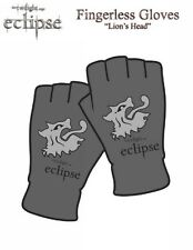 TWILIGHT ECLIPSE - Lions Head - Fingerless Gloves - Handschuhe - Neu