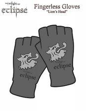 TWILIGHT ECLIPSE - Lions Head - Fingerless Gloves - Handschuhe - Neu