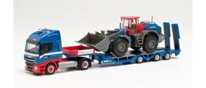 """Herpa 312851 - 1/87 Iveco Stralis Np Goldhofer Con Liebherr Pala Caricatrice """""""