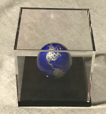 BLUE MARBLE AT NIGHT Planet Earth Spherical 3 Oz Silver Coin 5$ Barbados 2021