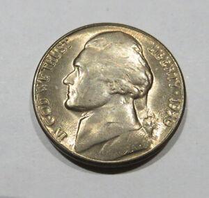 1950 D Jefferson Nickel BU Uncirculated Five Cent Coin #1