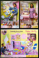Pregnant Midge Barbie Doll Baby Happy Family Alan Nursery African American AA ""