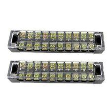 2 en 1 barrette a plots/bornier de raccordement a grille/borne a raccorder M2N4
