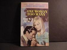 Vintage 1970s British Woman's Weekly Library 63-Pg Romance Novel Pbk:One Woman