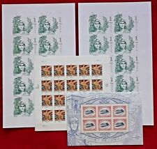 Combo: Two x 10 Statue of Freedom & 1 x 20 WISDOM & 1 x 6 INVERTED JENNY Stamps