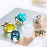 Transparent Silicone Mould necklace pendant mold Craft DIY Acorn Type molds SE