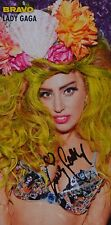 Lady Gaga-AUTOGRAPHE CARTE-signed autograph autographe collection captures