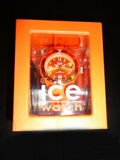 Ice Forever Watch (Orange, Unisex) [Brand New]