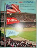 1966 Philadelpia Phillies Official Yearbook, Good+ Condition!
